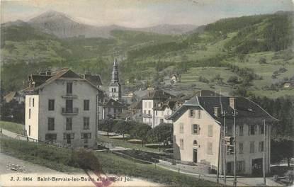 """CPA FRANCE 74 """" St Gervais Les Bains, Le Mont Joli""""."""