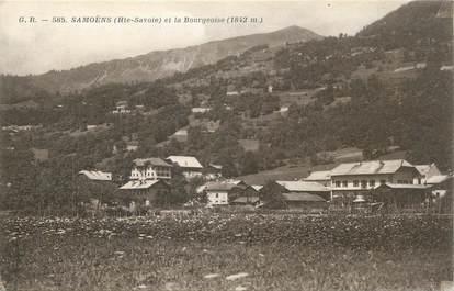 "CPA FRANCE 74 "" Samoëns, La Bourgeoise""."