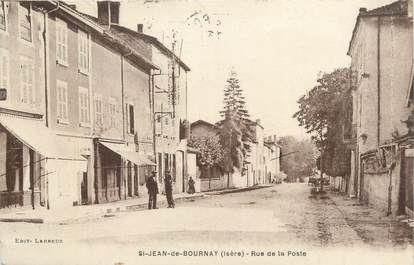 "CPA FRANCE 38 "" St Jean de Bournay, Rue de la Poste""."