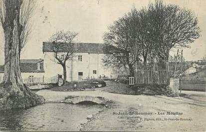 """CPA FRANCE 38 """" St Jean de Bournay, Les Moulins'."""
