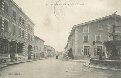 """CPA FRANCE 38 """" St Jean de Bournay, Les Terreaux""""."""