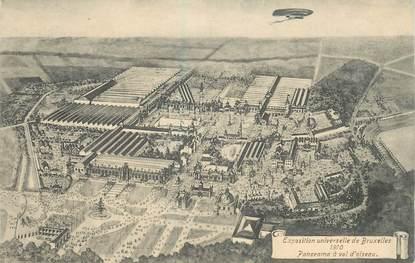 """CPA BELGIQUE """"Bruxelles, Exposition internationale 1910"""""""