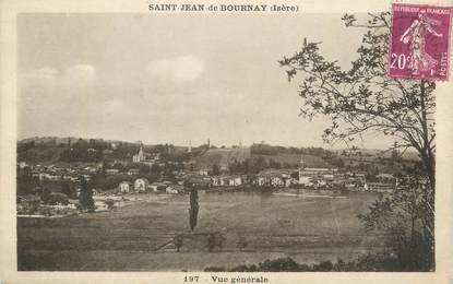 """CPA FRANCE 38 """" St Jean de Bournay, Vue générale""""."""