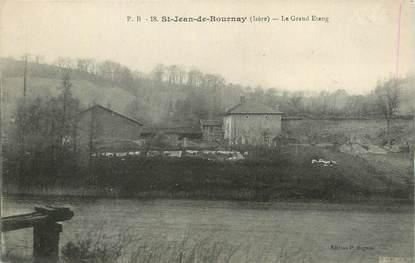 "CPA FRANCE 38 "" St Jean de Bournay, Le Grand Etang""."