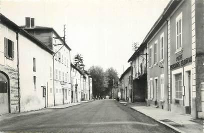 """CPSM FRANCE 38 """" St Jean de Bournay, Avenue de la gare""""."""