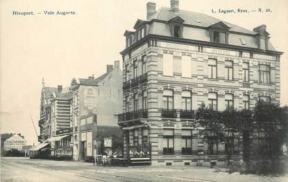 "CPA BELGIQUE ""Nieuport Ville, voie Auguste"""