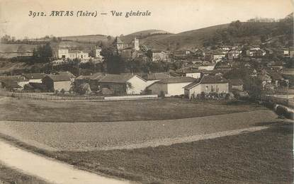 "CPA FRANCE 38 "" Artas, Vue générale""."