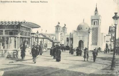 """CPA BELGIQUE """"Exposition universelle de Bruxelles 1910"""""""
