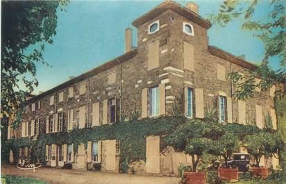"""CPA FRANCE 38 """" Chanas, Le château de Montbreton""""."""