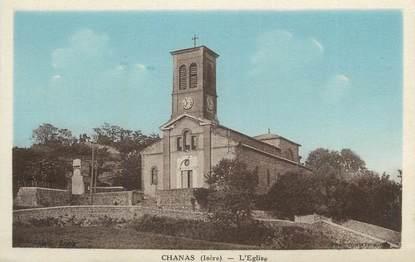 "CPA FRANCE 38 "" Chanas, L'église""."