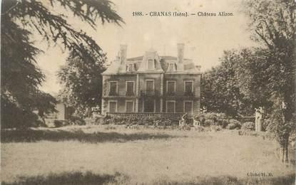 """CPA FRANCE 38 """" Chanas, Château Alizon""""."""