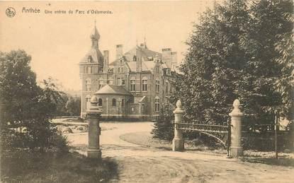 """CPA BELGIQUE """"Anthée, une entrée du Parc d'Ostemerée"""""""