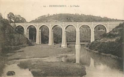 """CPA BELGIQUE """"Herbeumont, le viaduc"""""""