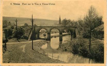 """CPA BELGIQUE """"Virton, pont sur le Ton"""""""