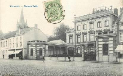 """CPA BELGIQUE """"Péruwelz, Chateau Petit"""""""