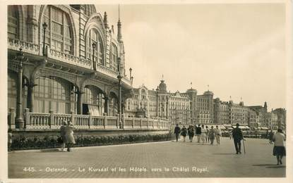 "CPA BELGIQUE ""Ostende"""