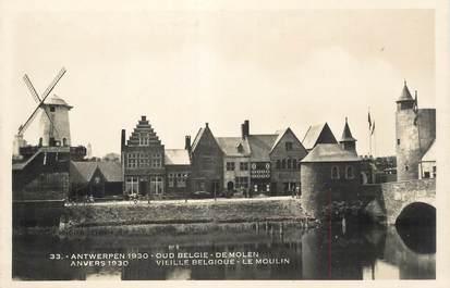 """CPA BELGIQUE """"Anvers 1930, le moulin"""""""