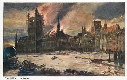 """CPA BELGIQUE """"Ypres"""" / ILL. A. Bastien"""