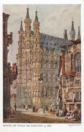 """CPA BELGIQUE """"Louvain, 1833"""" / Ill. S. Prout"""