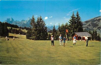 """CPSM SUISSE """"Gstaad, le Golf"""""""