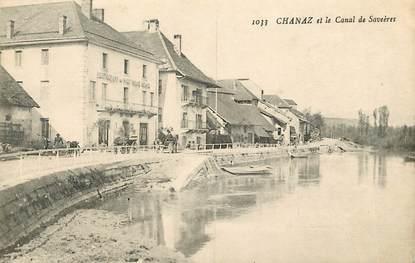 "CPA FRANCE 73 ""Chanaz, le canal"""