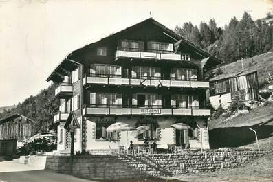 """CPSM SUISSE """"Grächen, Chalet restaurant Weisshorn"""""""