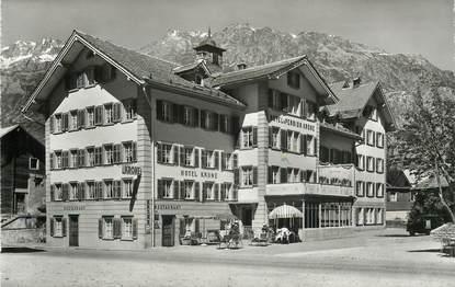 """CPSM SUISSE """"Andermatt, Hotel Krone"""""""