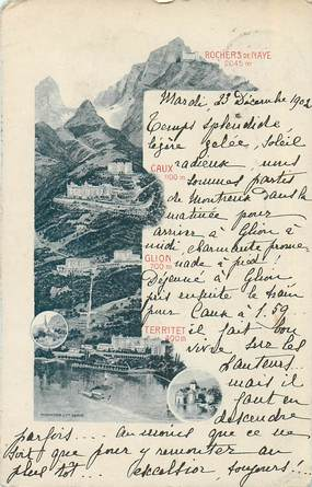 "CPA SUISSE ""Rochers de Naye"""