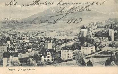 """CPA SUISSE """"Luzern"""