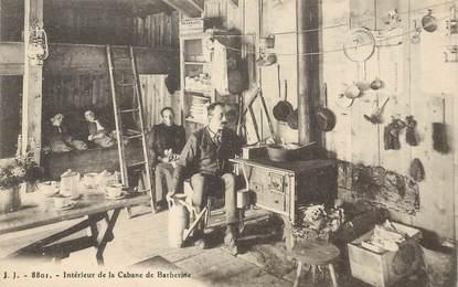"""CPA SUISSE """"Intérieur de la Cabane de Barberine"""" / ALPINISME"""