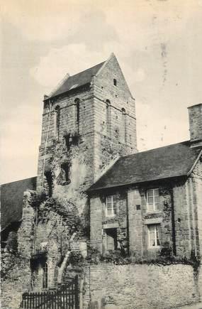 """CPSM FRANCE 50 """"Vains St Léonard, L'église""""."""