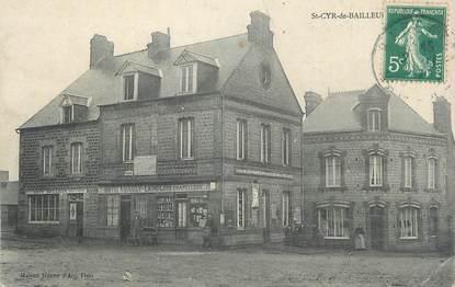 """CPA FRANCE 50 """"St Cyr de Bailleul, Maison Jeanne d'Arc""""."""