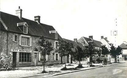 """CPSM FRANCE 50 """"Sainteny, La Poste route de Carentan""""."""