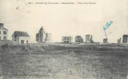 """CPA FRANCE 50 """"Quineville, Villas des Dunes""""."""
