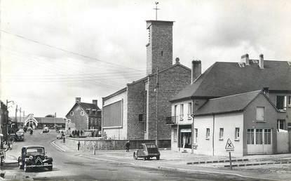 "CPSM FRANCE 50 ""Roncey, Centre du bourg""."