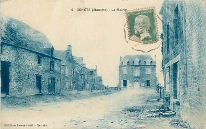 "CPA FRANCE 50 "" Genets, La Mairie""."
