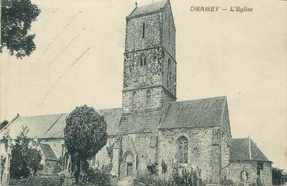 "CPA FRANCE 50 "" Dragey,L'église""."