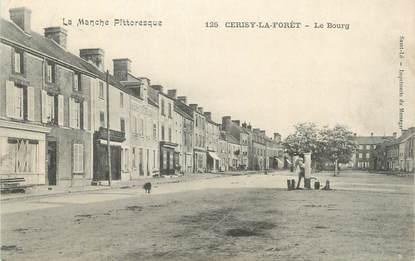 """CPA FRANCE 50 """" Cerisy la Forêt, Le bourg""""."""