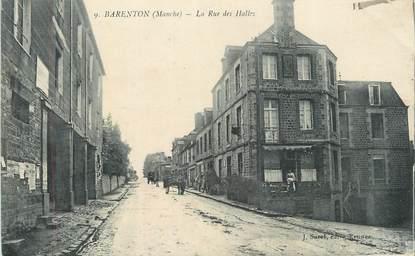 "CPA FRANCE 50 "" Barenton, La rue des halles""."