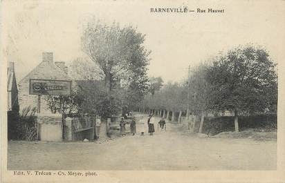 "CPA FRANCE 50 "" Barneville, Rue Hauvet""."