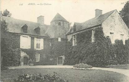 "CPA FRANCE 50 "" Airel, Le château""."