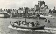 """50 Manche CPSM FRANCE 50 """" Barfleur, Le canot de sauvetage rentrant au port""""."""