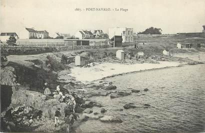 "CPA FRANCE 56 "" Port Navalo, La Plage""."