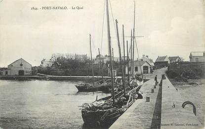 "CPA FRANCE 56 "" Port Navalo, Le quai""."