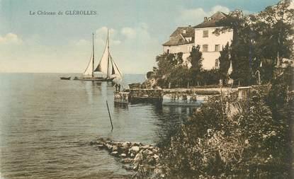 """CPA SUISSE """"Chateau de Glérolles"""""""