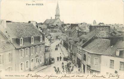 """CPA FRANCE 56 """" Guer, Vue""""."""