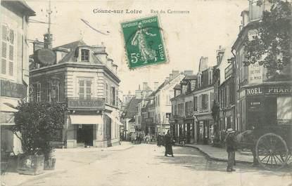 """CPA FRANCE 58 """" Cosne sur Loire, Rue du Commerce'."""