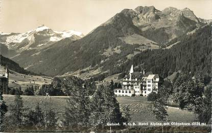 """CPA SUISSE """"Gstaad"""""""