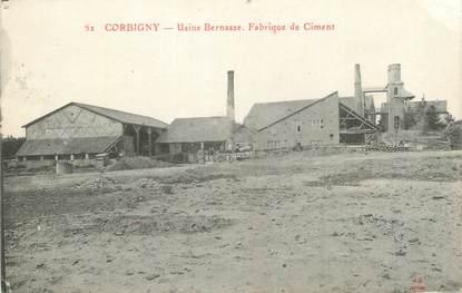 "CPA FRANCE 58 "" Corbigny, Usine Bernasse, fabrique de ciments""."
