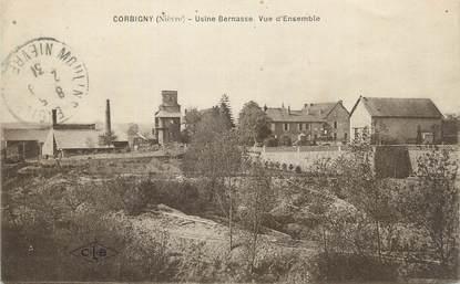 "CPA FRANCE 58 "" Corbigny, Usine Bernasse, vue d'ensemble""."